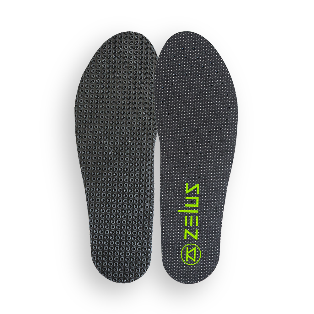 Zelus Sprintus Insole - Top and Bottom