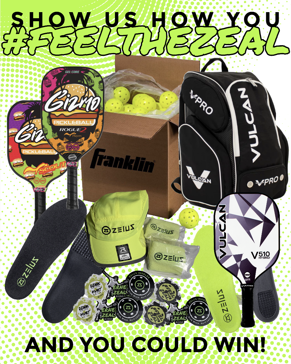 Show Us How You #FeeltheZeal And You Could Win